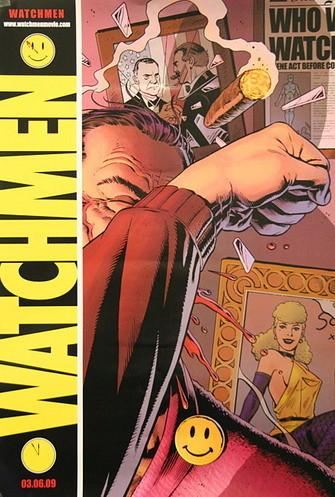Teaser póster de 'Watchmen'