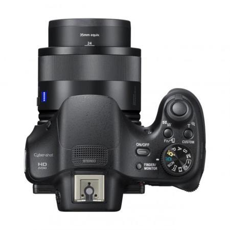 Sony HX400V desde arriba