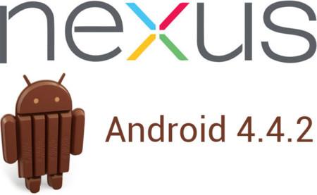 Actualiza manualmente tu Nexus 4, 5, 7 y 10 a Android 4.4.2 (KitKat)