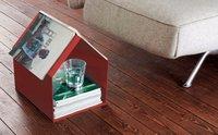 Magazin, un revistero con forma de casita