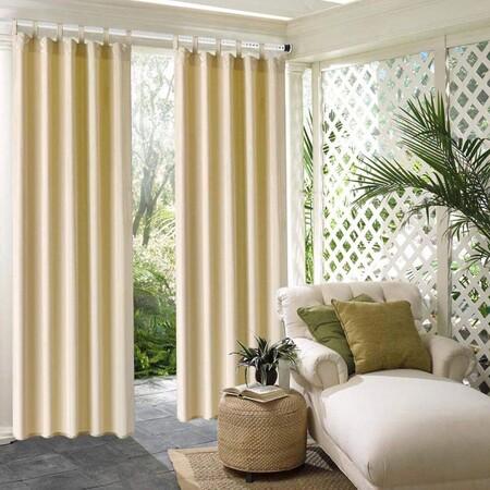 Siete soluciones que encontramos en Amazon, para colgar cortinas sin hacer agujeros, por menos de 35 euros