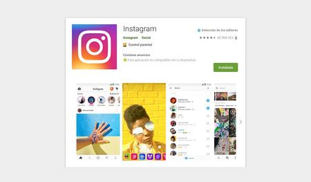 """Instagram y WhatsApp añaden """"de Facebook"""" a las tiendas de aplicaciones de una manera más discreta de la esperada"""