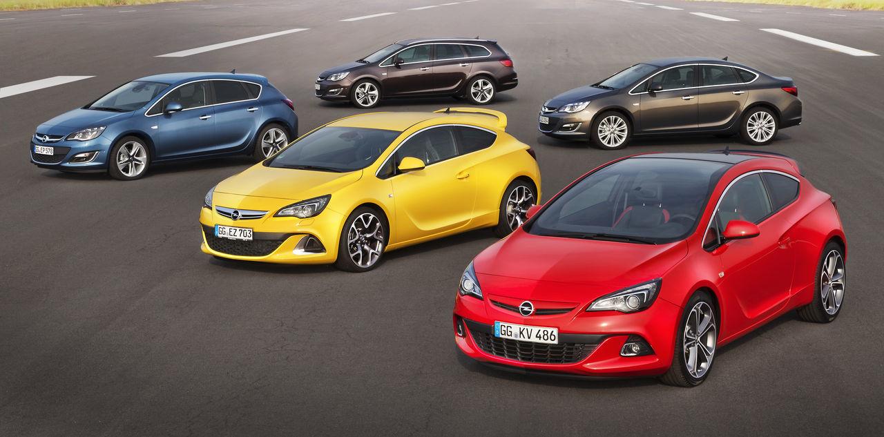 Foto de Opel Astra 2012 (1/28)