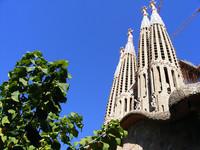 Time lapse: La Sagrada Familia desde un mini helicóptero