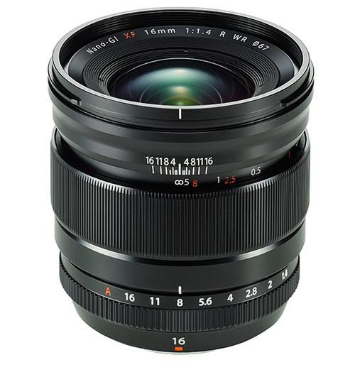Fujifilm presenta el objetivo Fujinon XF 16 mm F1.4 R WR
