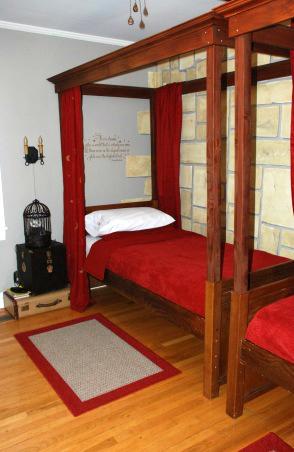 Un dormitorio infantil inspirado en harry potter for Harry potter cuartos decoracion