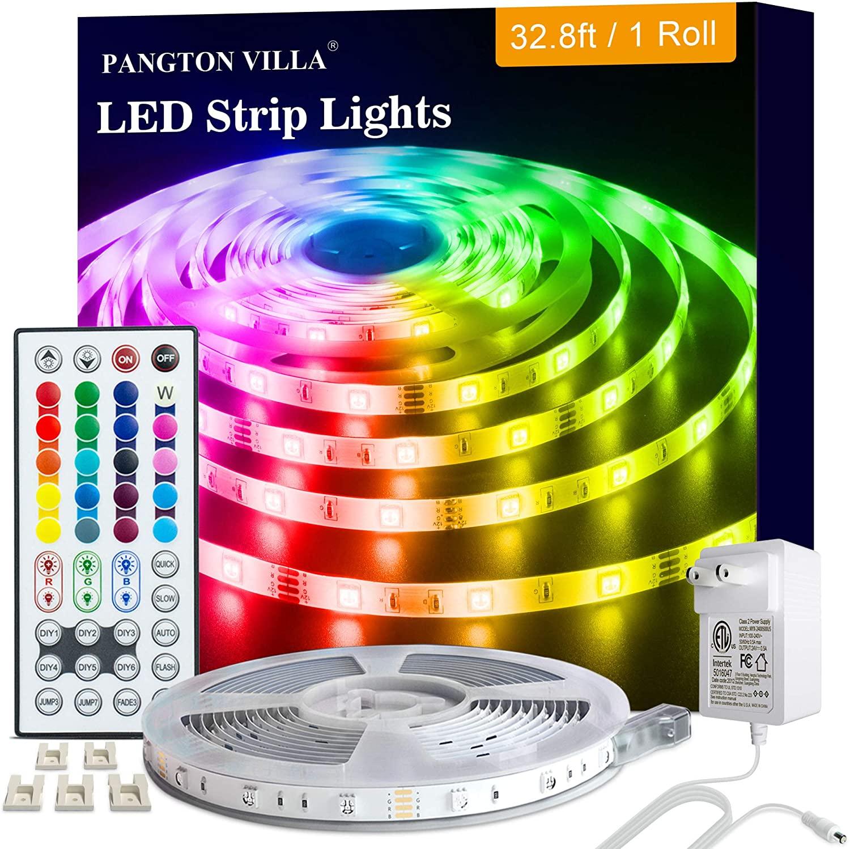 Tira LED de 10 metros con control remoto