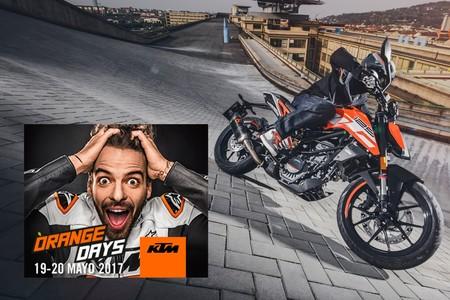 ¿Quieres una KTM y no sabes cuál? Vuelven los KTM Orange Days 19 y 20 de mayo