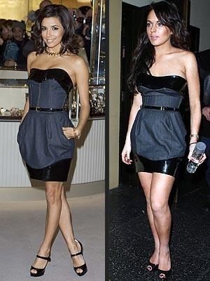 Mini vestido denim de Dolce&Gabbana