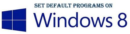 Escoge los programas por defecto para abrir cada tipo de archivo en Windows 8