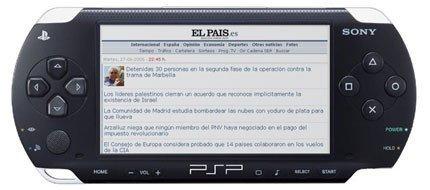 ELPAIS.es saca su versión para PSP