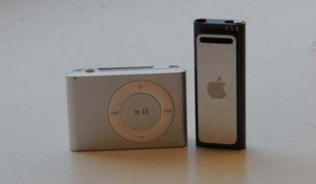 Fotografías del unboxing y del desmontaje del iPod shuffle 3G