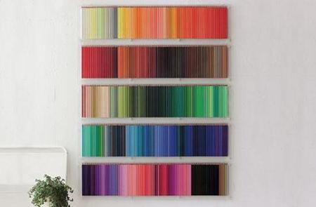 500 Pencils, hermosa colección de lápices de colores