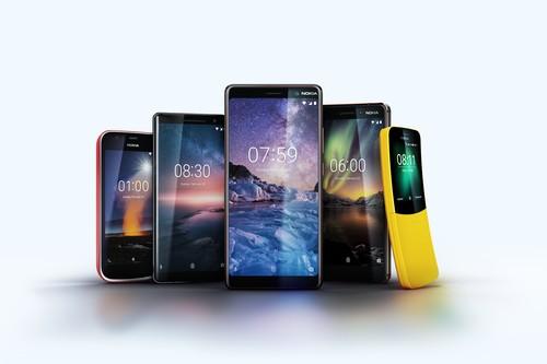 Nokia 7+, nuevo Nokia 6, Nokia 1 y Nokia 8 Sirocco: así queda el catálogo finlandés en 2018