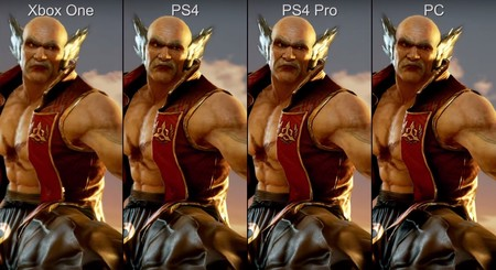 Tekken 7: compara tú mismo las diferencias en Xbox One, PS4, PS4 Pro y PC