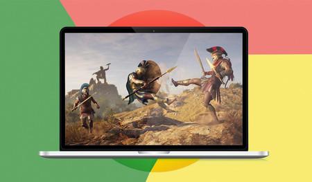 """Google y el """"reto enorme"""" de jugar a Assasin's Creed Odyssey desde Chrome"""