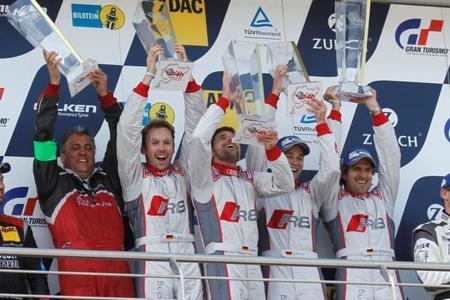 Audi ganó también las 24 Horas de Nurburgring