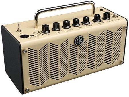 """Amplificador Yamaha con """"sabor"""" retro"""