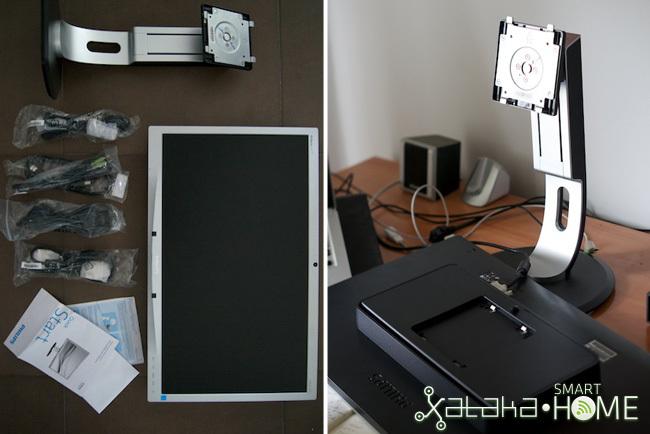 Prueba monitor philips - montaje
