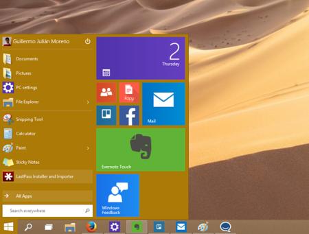 Menú inicio sí, menú inicio no: Microsoft, hay más debate alrededor de Windows 10