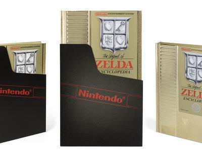 La versión Deluxe de la nueva Enciclopedia de Zelda es como el cartucho dorado original de NES
