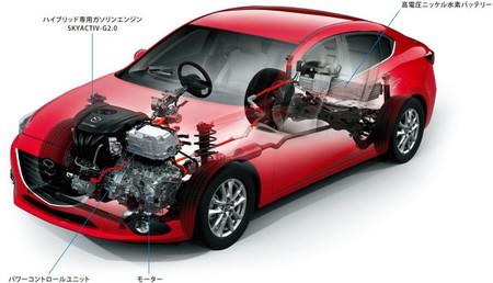 Mazda hace sus pinitos con los híbridos Diesel
