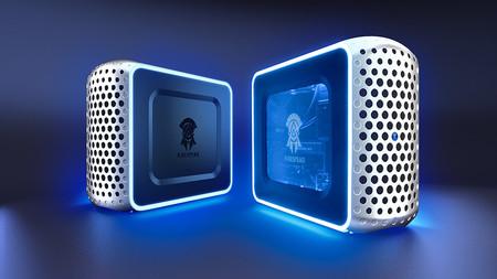 Konami entra en el mundo de la venta de PCs de sobremesa para jugar y lo hace con tres modelos propios de aspecto futurista