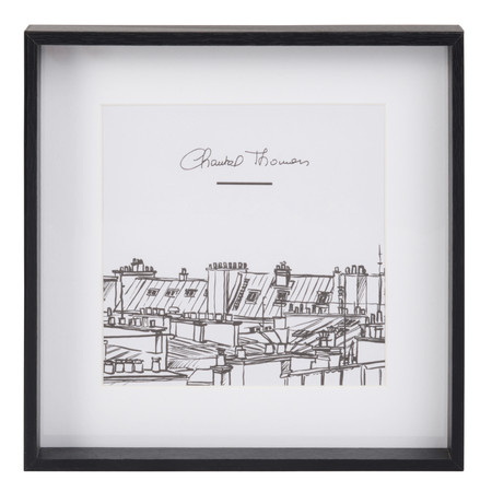 Maisons Du Monde 183389 Cuadro Toits De Paris Chantal Thomass 5 99 Euros