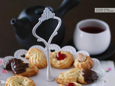 Paseo por la gastronomía de la red: recetas de galletas para la hora del té