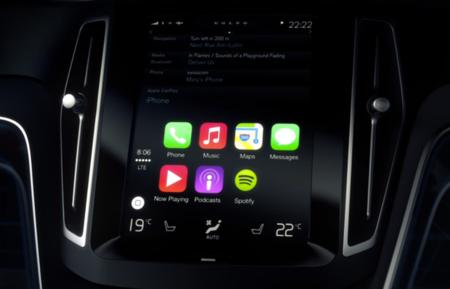 Así luce Apple CarPlay dentro de un Volvo