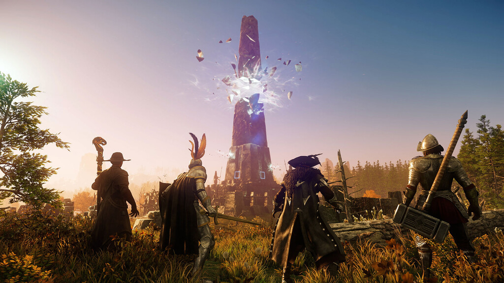 'New World', el MMORPG de Amazon, comienza su andadura: cómo probar la beta y hasta cuándo estará disponible