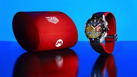 Este es el impresionante smartwatch de Super Mario: Tag Heuer y Nintendo colaboran en un reloj de lujo de 2,150 dólares