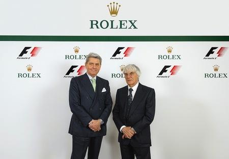 Rolex será el Reloj Oficial de la Fórmula 1 en el 2013