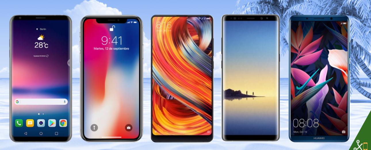Mejores móviles gama alta 2017: Comparativa de características ...