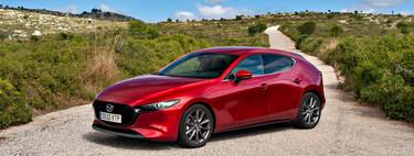 Probamos el Mazda 3 Skyactiv-G: 122 CV para un compacto bien diseñado y con bajo consumo que roza lo premium