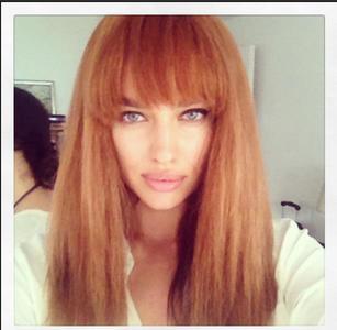 Irina Shayk, ¿también se apunta a la moda de las melenas pelirrojas?
