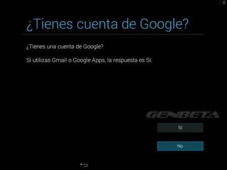 Android-x86, cuenta de Google