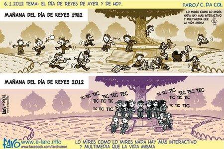 Cómo ha cambiado el día de Reyes en tan sólo 30 años