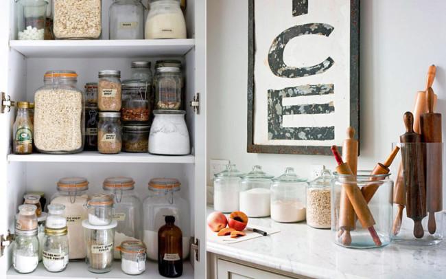 Siete secretos para ordenar tu cocina como en tus mejores - Como colgar muebles de cocina ...