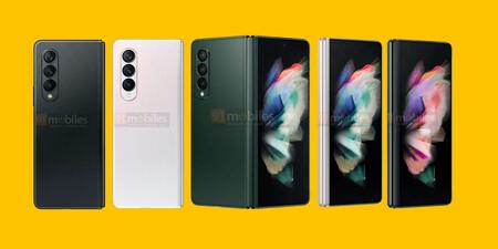 Bombardeo de detalles en la última filtración del Samsung Galaxy Z Fold 3: la cámara bajo la pantalla vuelve a escena