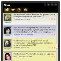 Spaz, otro atractivo cliente de Twitter para la plataforma Adobe AIR