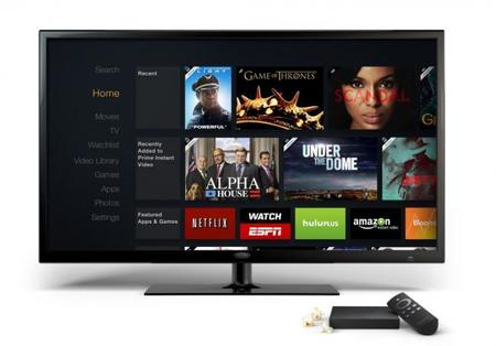 Interfaz Amazon Fire TV