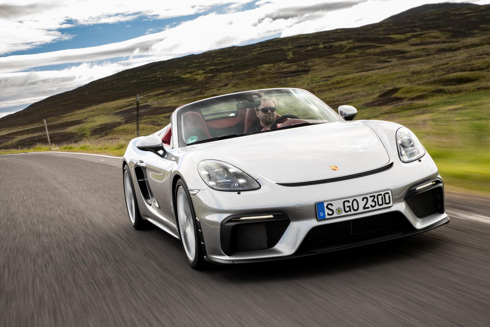 Foto de Porsche 718 Spyder (prueba contacto) (145/296)