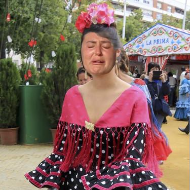 Rocío Flores saca su vena de folclórica y con lágrimas a goterones realiza estas lapidarias declaraciones: ¡No me váis a entrevistar más!