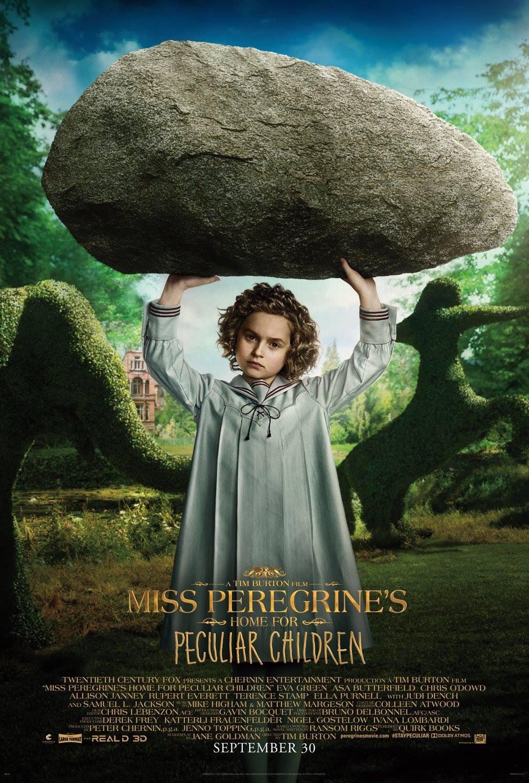 Foto de Carteles de 'El hogar de Miss Peregrine para niños peculiares' (9/19)
