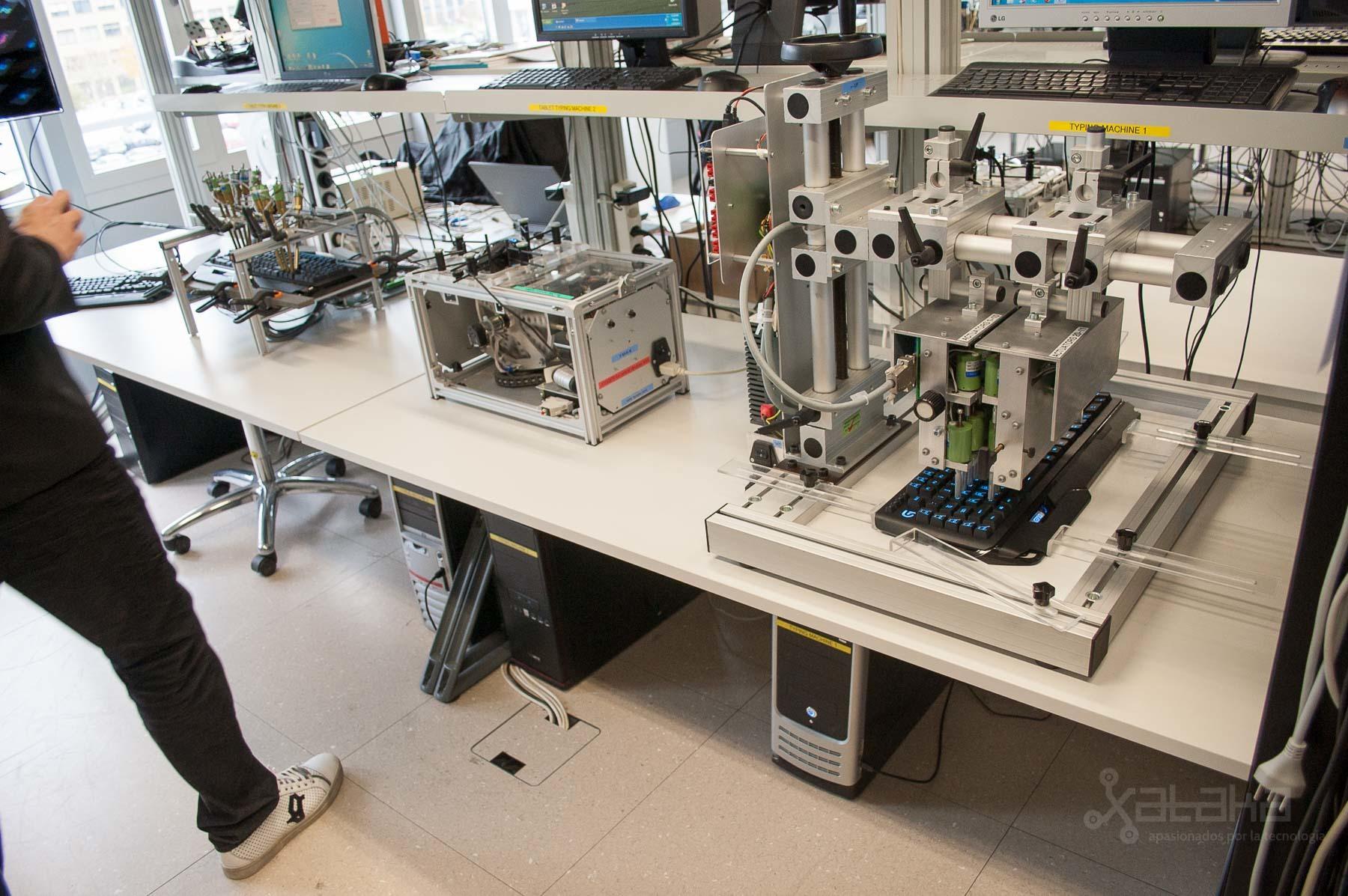 Foto de Logitech Lausanne, visita a sus laboratorios (34/49)