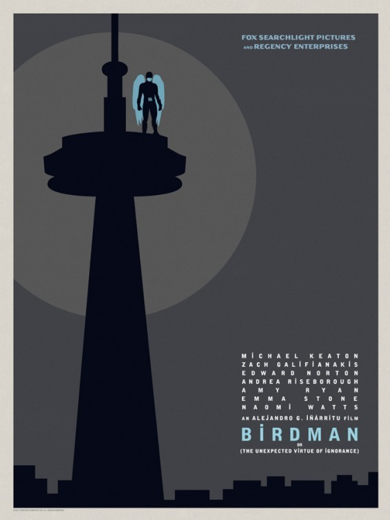 Foto de 'Birdman (o la inesperada virtud de la ignorancia)', carteles (9/15)