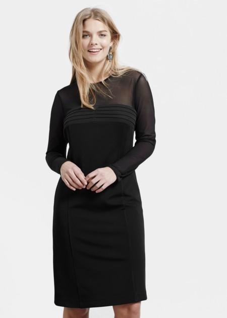 Vestido Violeta Negro