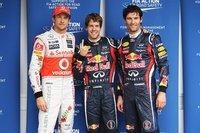 Sebastian Vettel logra la pole en Brasil y establece un nuevo récord