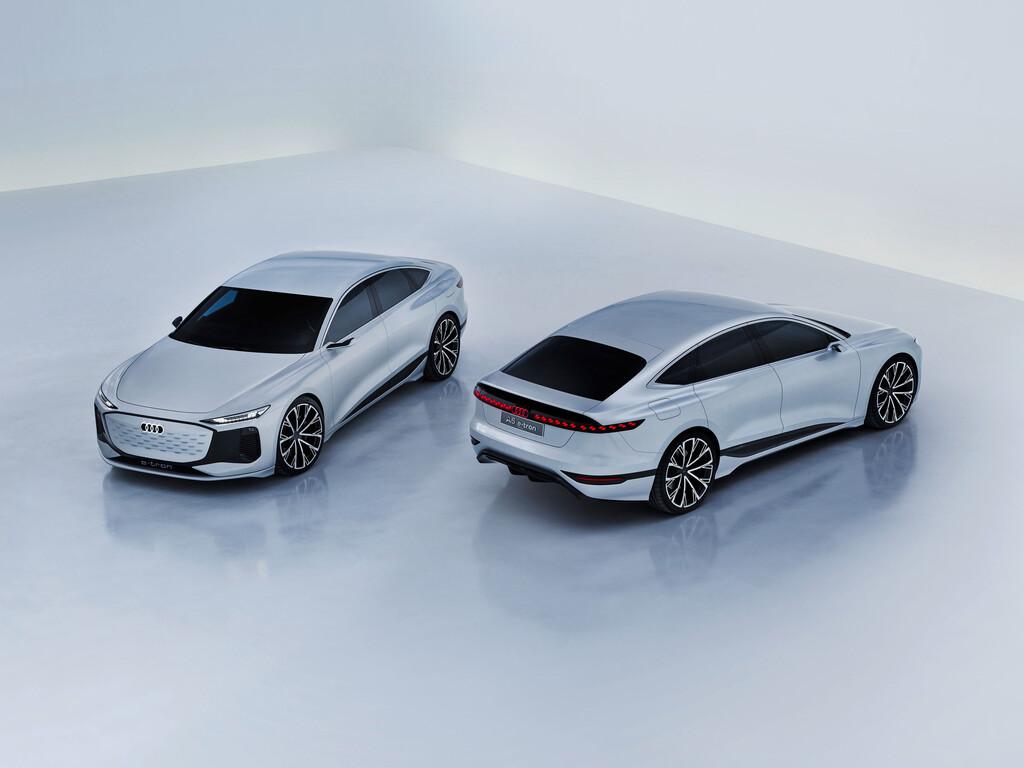 Audi A6 E-Tron, un espectacular concepto de sedan eléctrico que define el futuro de la marca